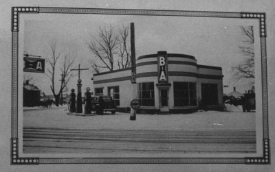 Don Johnston's Service Station, South River, circa 1950