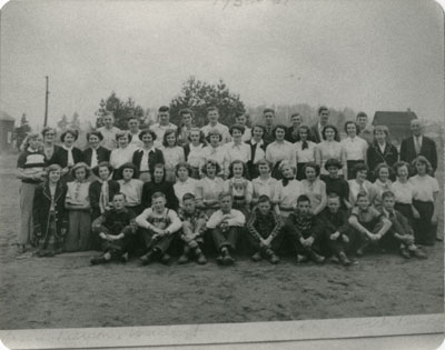 South River Continuation School Picture on a Field