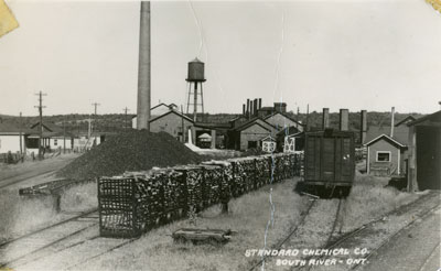 Yard of the Standard Chemical Company, South River
