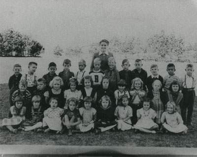 Miss Bruce's South River Public School Class Photograph, 1950