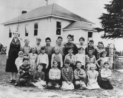 Mrs. A. S. Milligan's Class Photograph, 1957