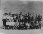 Mrs. Ethel Maeck's South River School Class Photograph, circa 1950