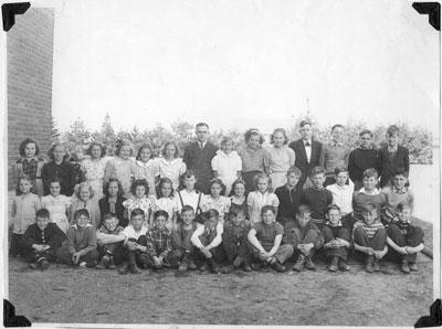 Mr. Percival's Grade 5 & 6 class, 1946