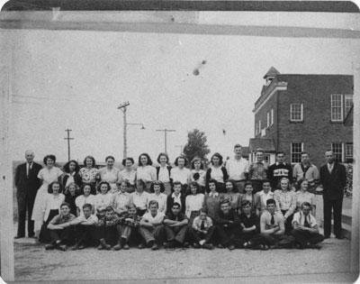 South River Continuation School Grade 9 - 12, circa 1948