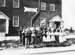 South River Public School Arms Crossed Group Picture, circa 1950