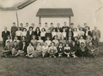 South River Continuation School Grade 9 - 12 Class Photograph, 1949