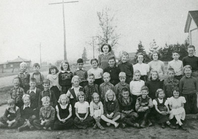 Mrs Caldwell's South River Public School Grade 3 Class, 1951