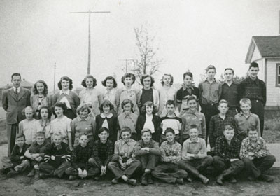 Mr. Cassey's South River Public School Grade 8 Class, 1952