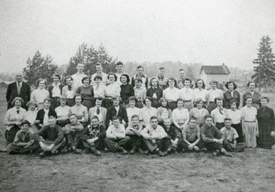 South River Continuation School Class Photograph, 1953