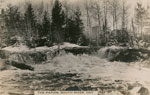 Postcard of The Rapids South River, circa 1920