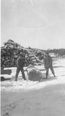 Standard Chemical company Lumber Camp, circa 1920
