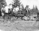 Building Eagle Lake Road, Family Grating Road, circa 1910