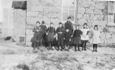 S. S. #1 Machar Class Photograph, circa 1920