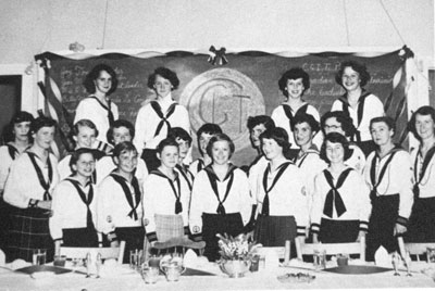South River Canadian Girls in Training(C. G. I T.),circa 1954