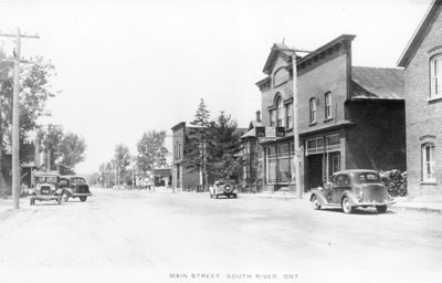 Main Street, South River, circa 1930