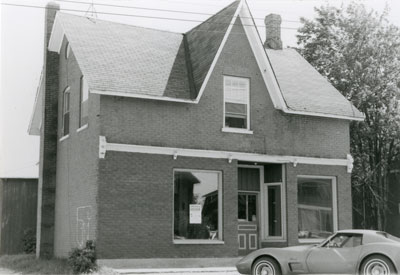 Storefront in South River, circa 1985
