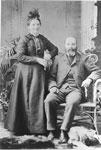 Portrait of John & Janet Mathers, circa 1900