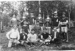 Pioneer Lacrosse Team, Sundridge, circa 1900