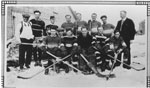 Group Photograph of Local Hockey Team, 1933