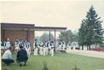 Sundridge Bugle Band After the Parade, 1967
