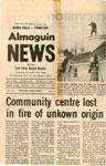 Community Centre Lost in Fire,Sundrdige, 1980