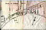 Hand Drawn Map of Sundridge, circa 1880 - 1890, with Typed Legend