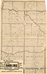 Newspaper Clipping of a Map of Many Townships in the Sundridge Area