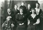 Portrait Photograph of the Wilson Family, circa 1910