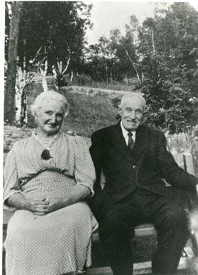 Mr. and Mrs. John Wilson, circa 1930