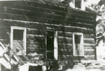 Cottrell Family Log Cabin, circa 1920