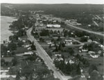 Aerial Photograph of Main Street and Highway 11, Sundridge, circa 1960