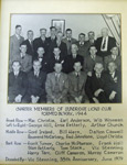 Charter Members of Sundridge Lions, May 1944