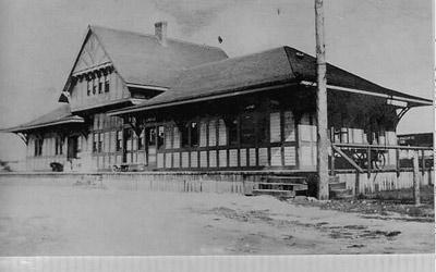 Schreiber CPR Station (~1886)