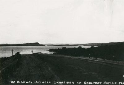 Trans Canada Highway 17 near Selim.