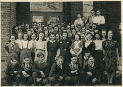 Schreiber High School Class Photo