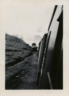 Train Scene in Schreiber