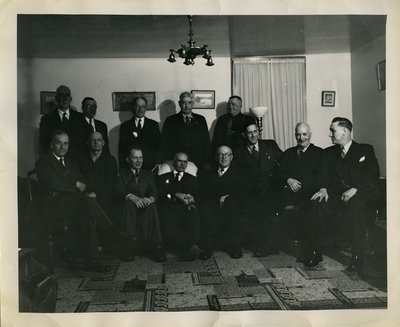 Group Photo of Retired Engineers