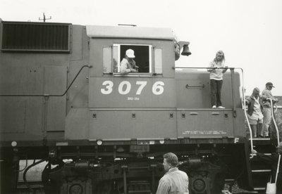 Engine #3076 Heritage Train