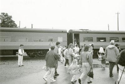 Heritage Train Passengers