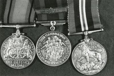 3 World War 2 Medals