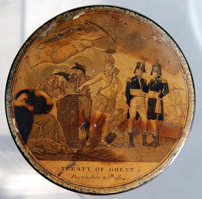 Treaty of Ghent Snuff Box