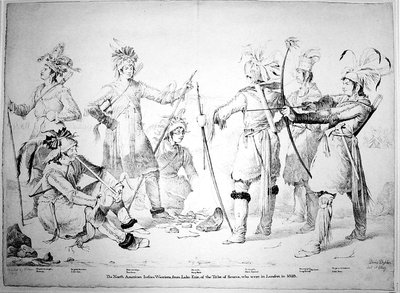 Indian Warriors from Lake Erie