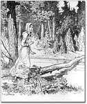 Laura Secord on her Journey to Warn the British