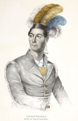 Ahyouwaighs, Chief of the Six Nations 1838