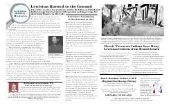 Lewiston History Mysteries - Lewiston Burned