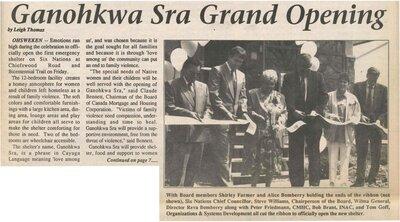 """""""Ganohkwa Sra Grand Opening"""""""