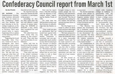 """""""Confederacy Council Report from March 1st"""""""