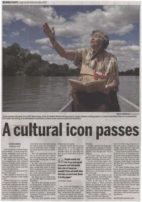 """A Cultural Icon Passes"""