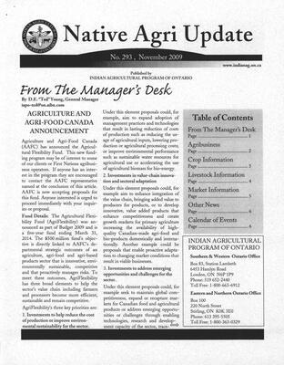 Native Agri Update - No.293