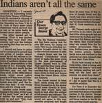 """""""Indians Aren't All the Same"""""""